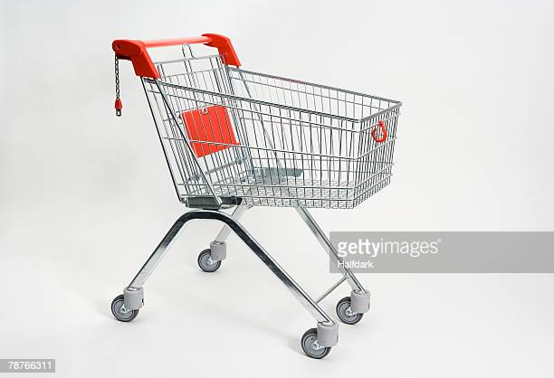 a shopping trolley - shopping cart stock pictures, royalty-free photos & images