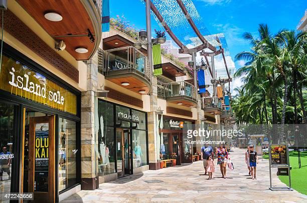ワイキキのショッピング - ホノルル ストックフォトと画像