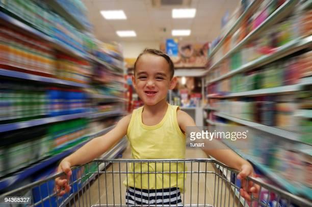 Compras com crianças