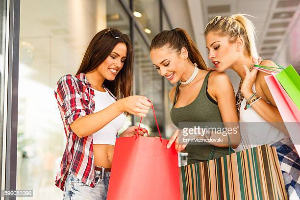 Shopping with friends is fun!