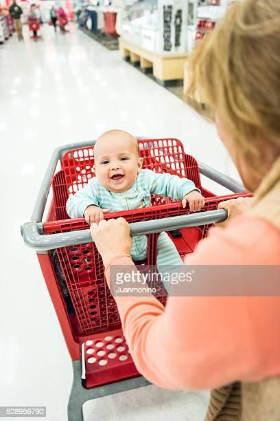 Einkaufen mit Ihrem Baby
