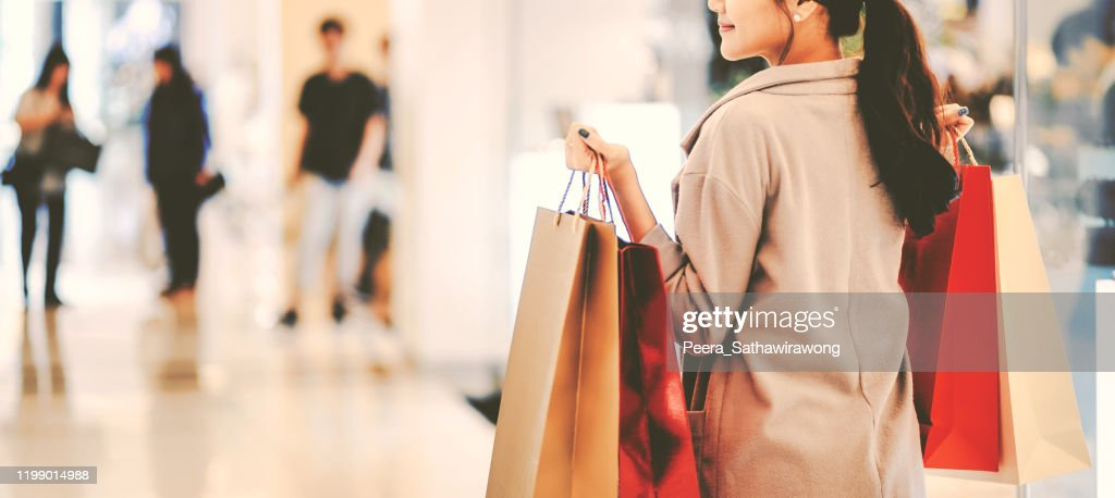 Shopping Woman : Stockfoto