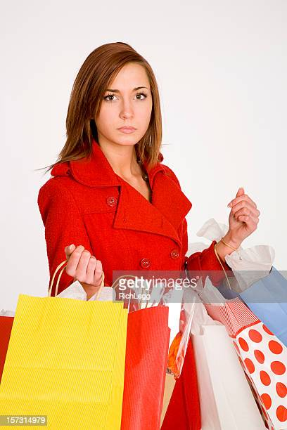 shopping woman - rich_legg stock pictures, royalty-free photos & images