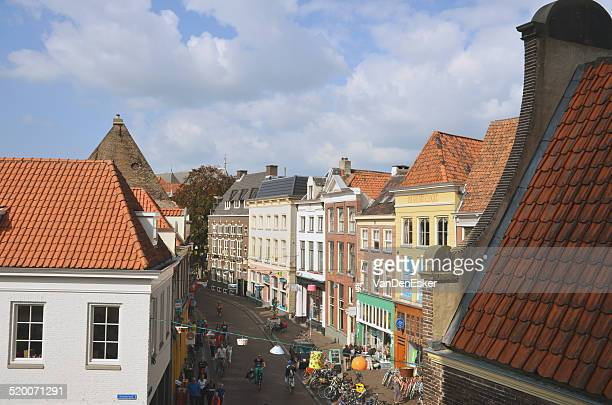 shoppingstreet - overijssel stock pictures, royalty-free photos & images