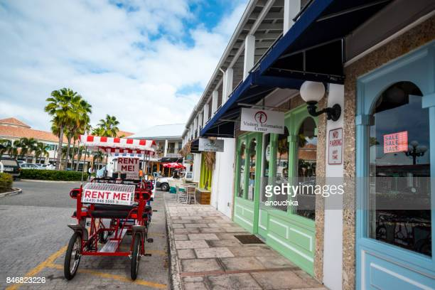 shops at saltmills plaza, providenciales. turks and caicos - grand bahama stock photos and pictures