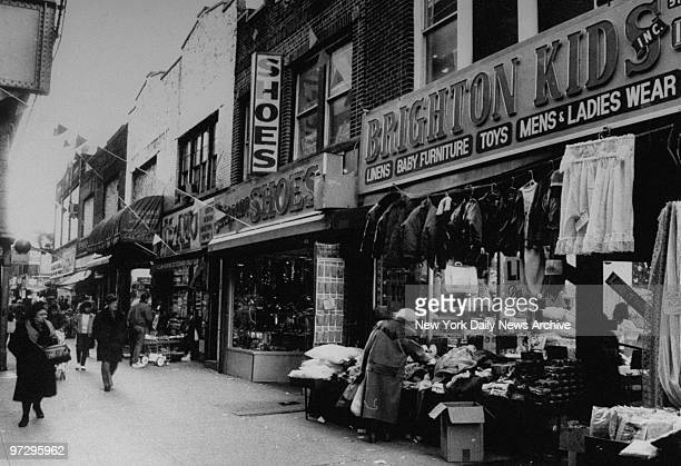 Shops in Brighton Beach