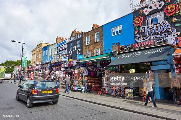 Shops in Camden Town