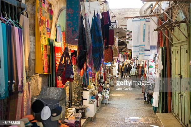 Geschäfte in Jerusalem's Moslemviertel