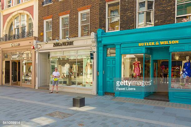 Shops in South Molton Street