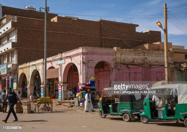 Shops in the market, Khartoum State, Omdurman, Sudan on January 4, 2019 in Omdurman, Sudan.