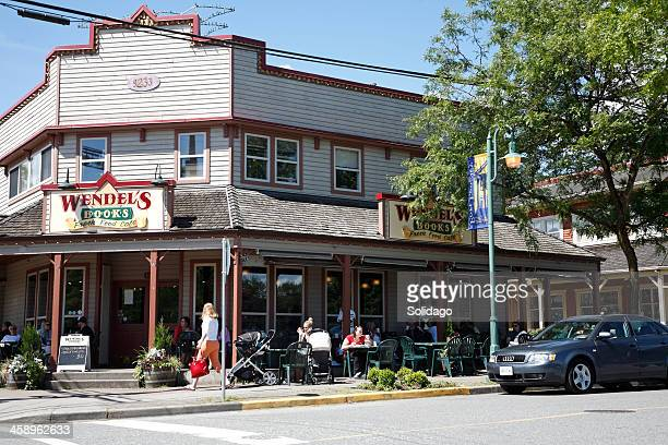 Shops in The Small Town Of Fort Langley