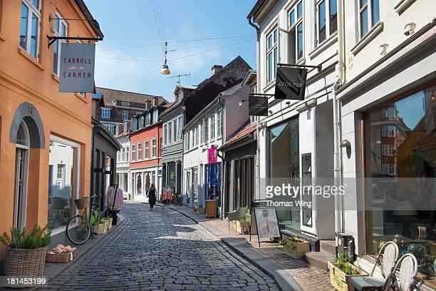 Shops in the Volden Street
