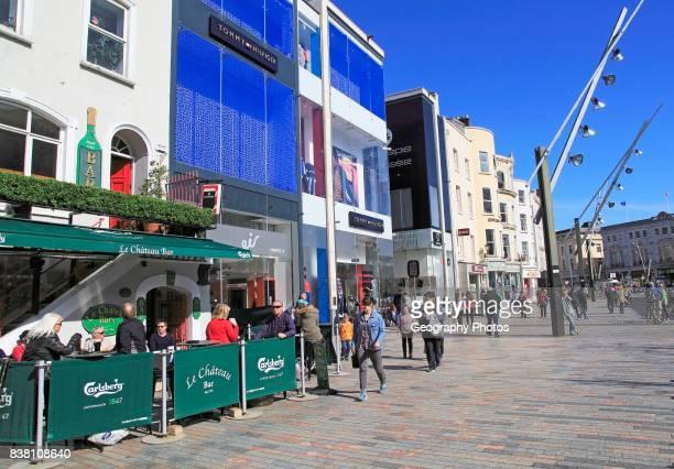Shops on St Patrick's Street City of Cork County Cork Ireland Irish Republic