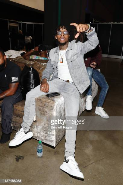 Shordie Shordie attends the 2019 BET Experience Celebrity Dodgeball Game at Staples Center on June 21 2019 in Los Angeles California