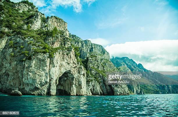 Shore of Capri, Campania, Italy