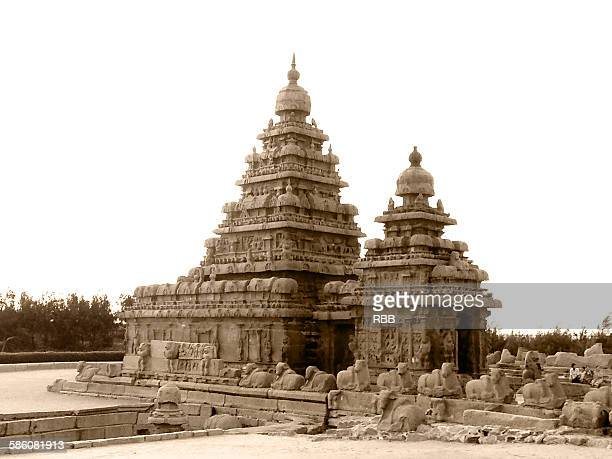 Shore temple at Mahabalipuram