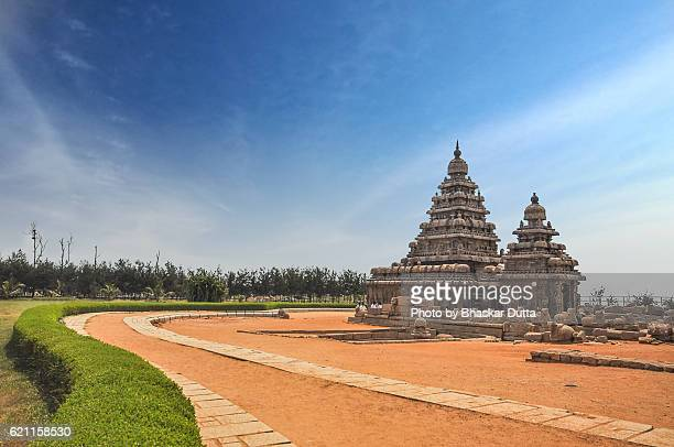 shore temple of mahabalipuram - chennai stock pictures, royalty-free photos & images