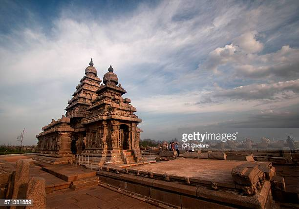 shore temple,mahabalipuram,tamil nadu - tamil nadu stock pictures, royalty-free photos & images