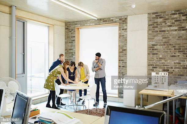 shoreditch office - creative occupation stock pictures, royalty-free photos & images