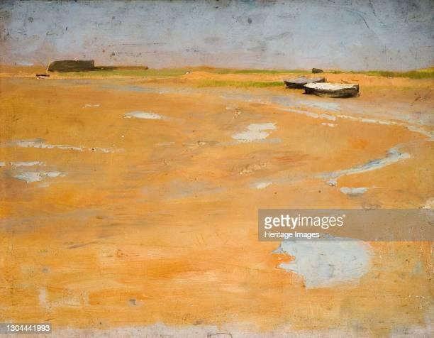 Shoreham-On-Sea, Sussex, 1889. Artist Charles Gogin.