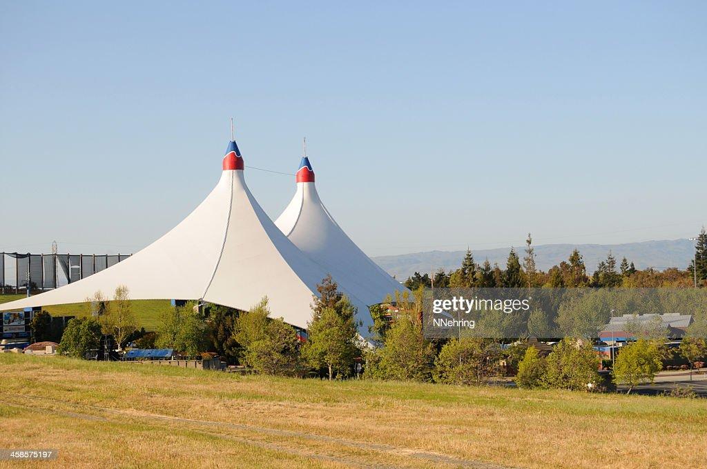 Shoreline Amphitheatre, Mountain View, California : Stock Photo