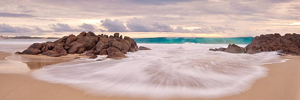 shoreline beach wave