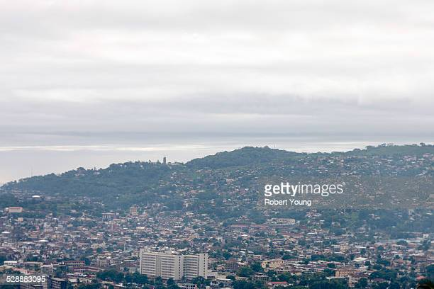 shoreline - freetown sierra leone stock pictures, royalty-free photos & images