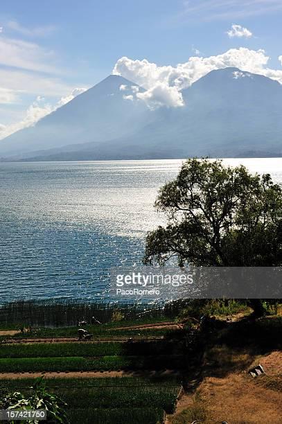 Shores of Lake Atitlan