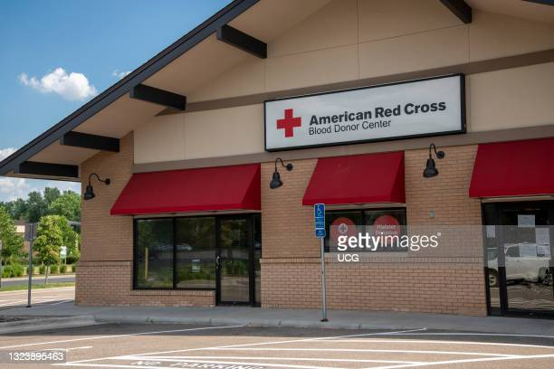 Shoreview, Minnesota. American Red Cross blood donor center.