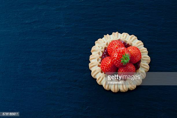 Short crust tartlet with strawberries