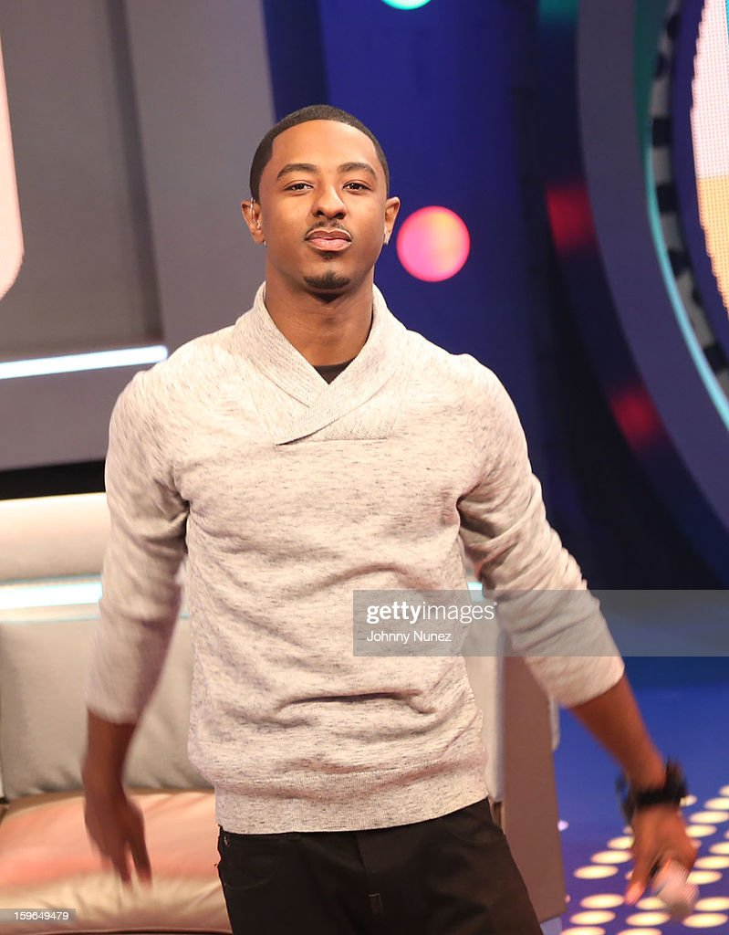 Short Da Prince hosts BET's '106 & Park' at BET Studios on January 17, 2013 in New York City.