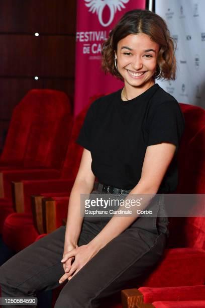 Short film jury member Carmen Kassovitz attends 34th Cabourg Film Festival Short Film Jury Photocall on June 18 2020 in Paris France