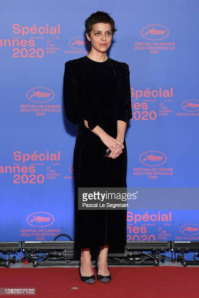 Short Film Jury member Dea Kulumbegashvili attends the opening ceremony of the Special Cannes 2020 Le Festival Revient Sur La Croisette as part of...