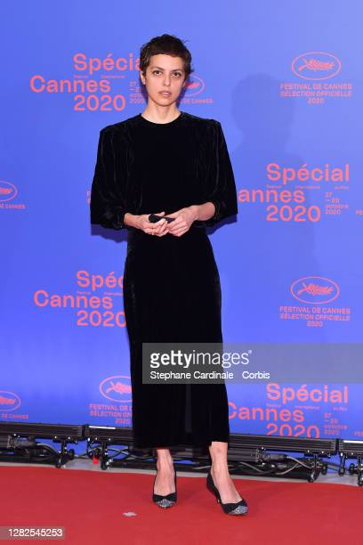 Short Film Jury members Dea Kulumbegashvili attends the opening ceremony of the Special Cannes 2020 Le Festival Revient Sur La Croisette as part of...