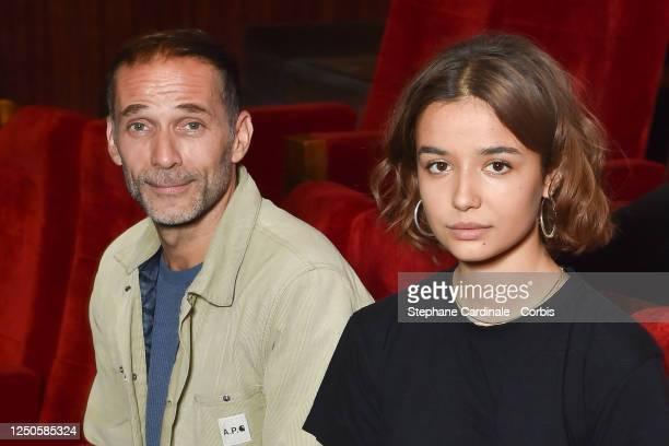 Short film jury members Malcolm Conrath and Carmen Kassovitz attend 34th Cabourg Film Festival Short Film Jury Photocall on June 18 2020 in Paris...