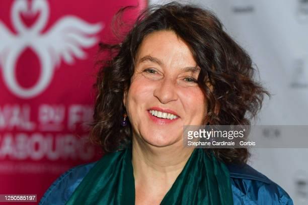 Short film jury president Noémie Lvovsky attends 34th Cabourg Film Festival Short Film Jury Photocall on June 18 2020 in Paris France