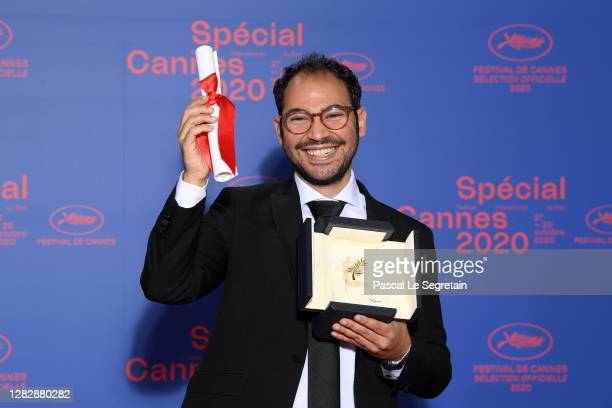 "Short film Palme d'Or winner Sameh Alaa attends the Best Short Film Palme D'Or Award Ceremony of the ""Special Cannes 2020 : Le Festival Revient Sur..."