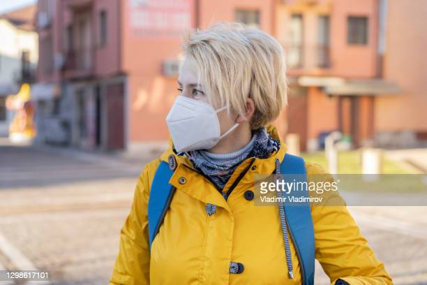 short hair blonde woman portrait - department of health and human services stock pictures, royalty-free photos & images