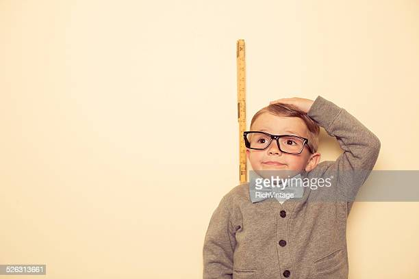 short male nerd - tall high stock photos and pictures