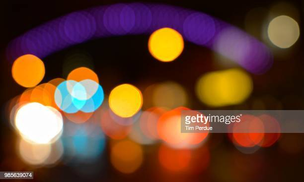 short north bokeh - christmas background stock photos and pictures