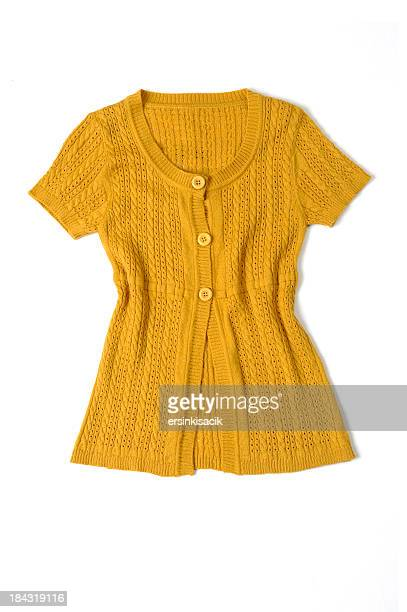 short sleeved cardigan - short sleeved stock pictures, royalty-free photos & images