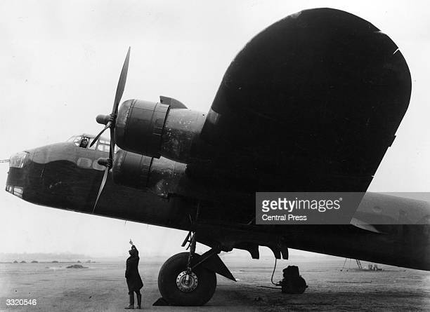 Short Stirling bomber the first Allied fourengined bomber of the Second World War