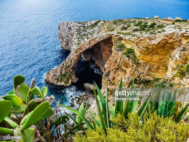 Landscape Photography Personalized Cards Prints Malta/'s Blue Grotto