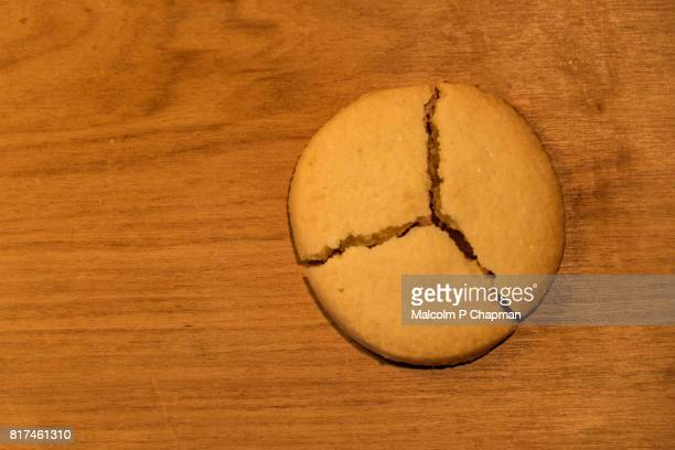Shortbread biscuit pie chart