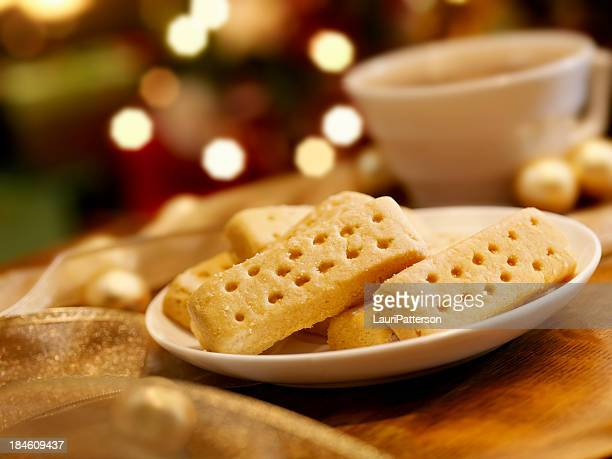 Shortbread Cookies at Christmas Time