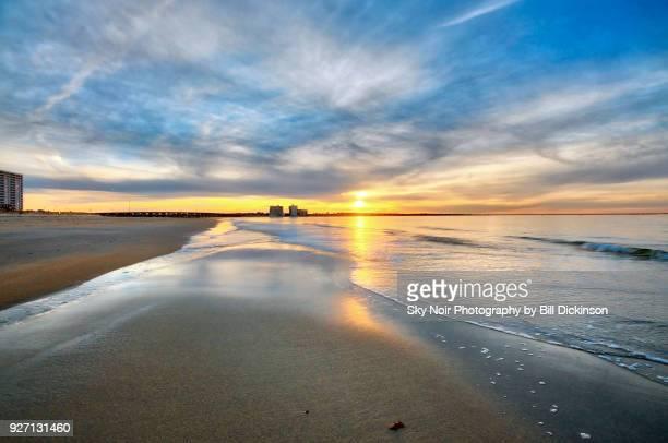 shortline tranquility - virginia beach foto e immagini stock