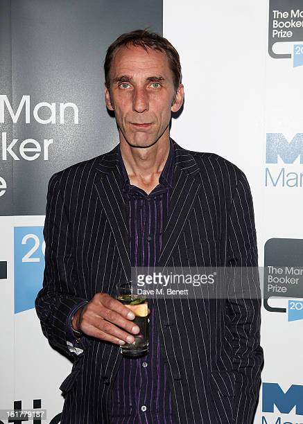 Shortlisted author Will Self attend a champagne reception celebrating the 2012 Man Booker Prize shortlist announcement at the Holland Park Orangery...