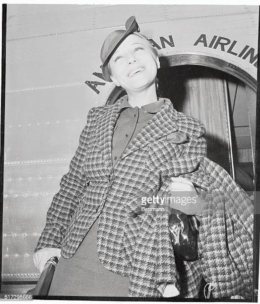 Shortly after arriving here from New York where she selected girls and costumes for a new show Sally Rand appeared in court to defend herself of...