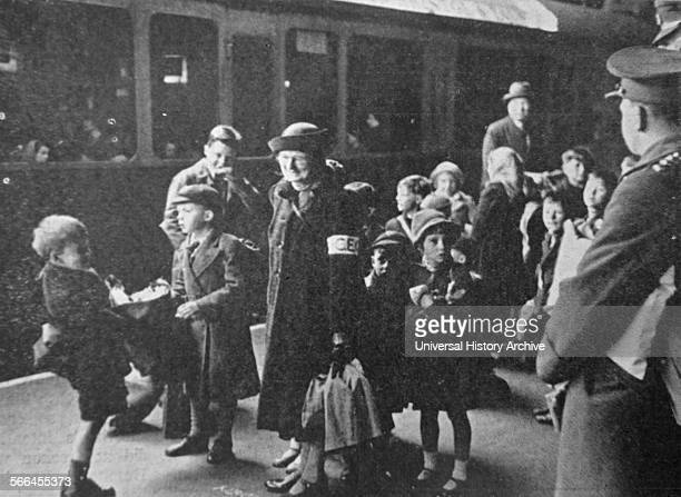 Shortly after the outbreak of World war Two children were evacuated from cities thought to be liable to attack Paddington was one of the busiest...