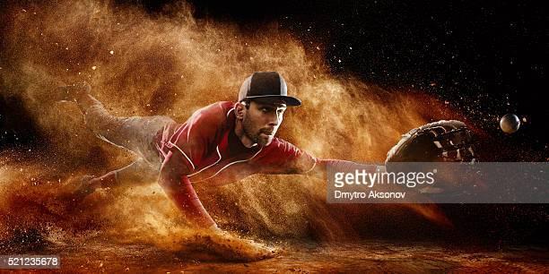 Shortstop catching